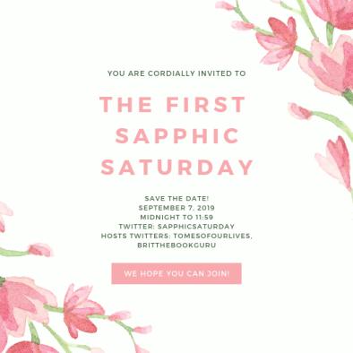Sapphic Saturday Invite